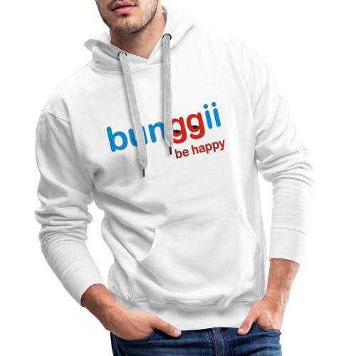 bunggii - be happy - Männer Premium Hoodie