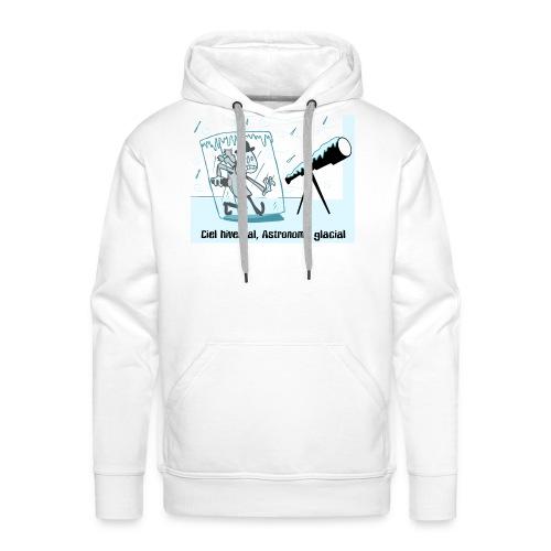 astronomie hivers - Sweat-shirt à capuche Premium pour hommes