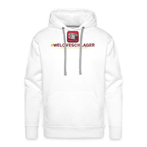 WeLoveSchlager de - Männer Premium Hoodie