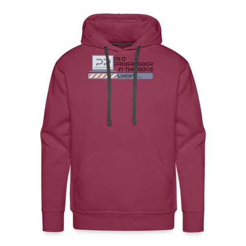 i m a programmer in the make - Mannen Premium hoodie