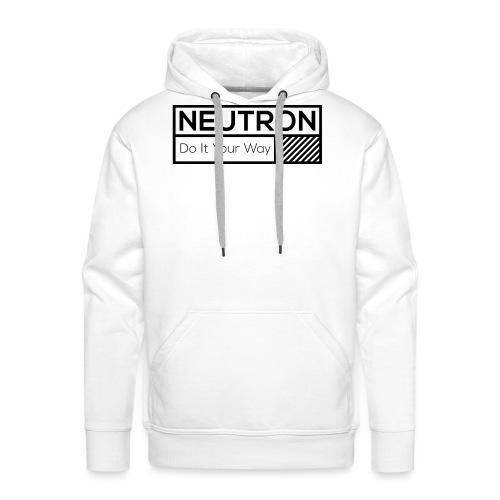 Neutron Vintage-Label - Männer Premium Hoodie