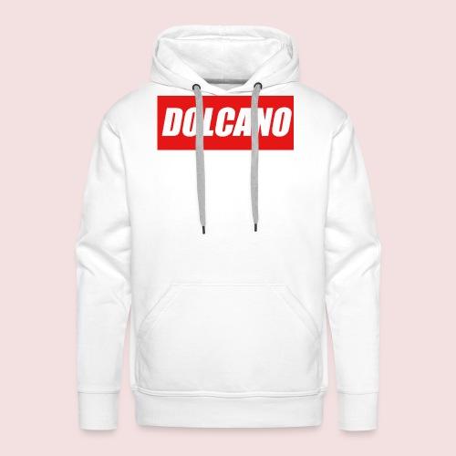 DOLCANO Box Logo Short Sleeved T-Shirt. - Men's Premium Hoodie