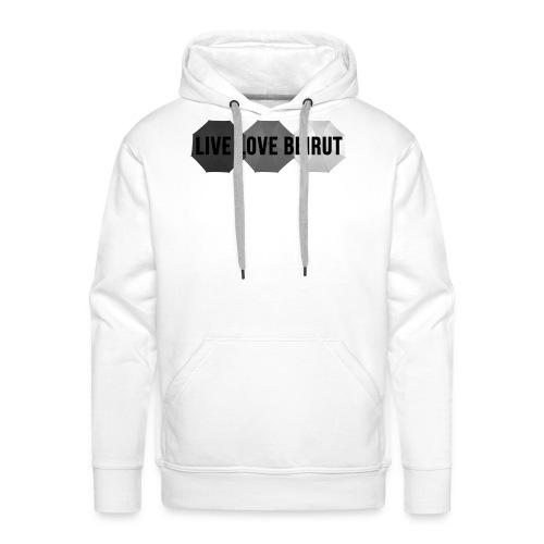 LIVE LOVE BEIRUT - Sweat-shirt à capuche Premium pour hommes