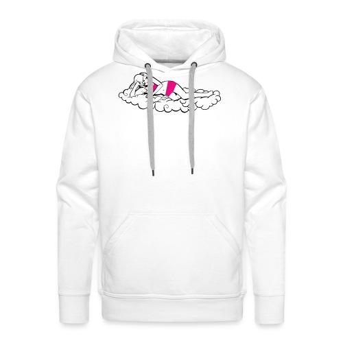 F nuage - Sweat-shirt à capuche Premium pour hommes
