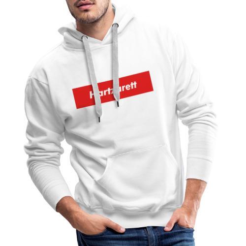 Hartzarett Boxed Logo - Männer Premium Hoodie