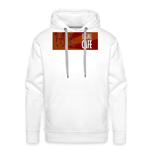 325 ml café - #HDC - Sweat-shirt à capuche Premium pour hommes