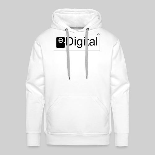 e.Digital - Sweat-shirt à capuche Premium pour hommes