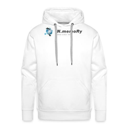 inm logo v1 dunkel png - Männer Premium Hoodie