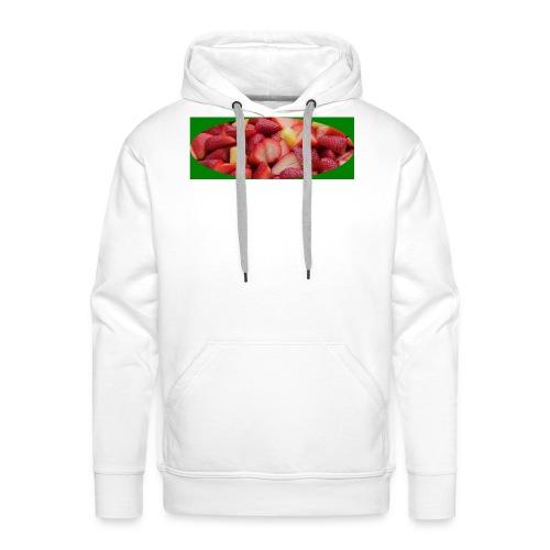aardbei_1-JPG - Mannen Premium hoodie