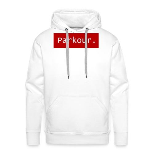 Parkour. - Mannen Premium hoodie