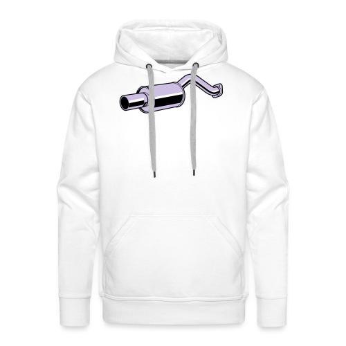 Muffler F - Sweat-shirt à capuche Premium pour hommes
