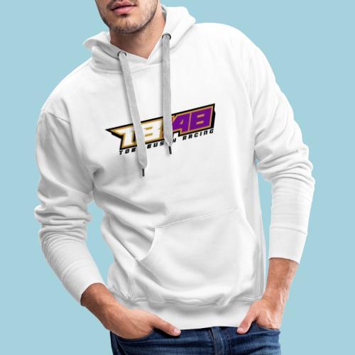 Tobi Logo schwarz - Männer Premium Hoodie