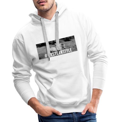 #westernstyle - Sweat-shirt à capuche Premium pour hommes