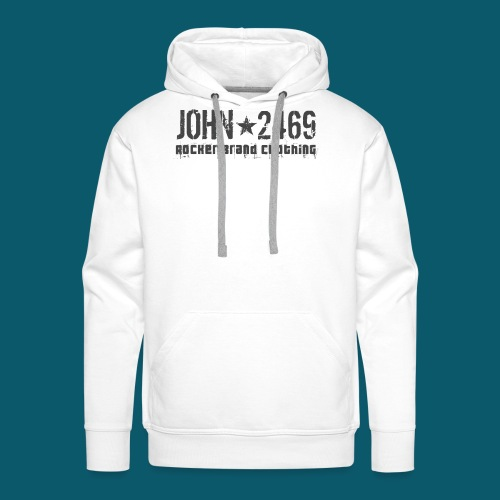 JOHN2469 prova per spread - Felpa con cappuccio premium da uomo