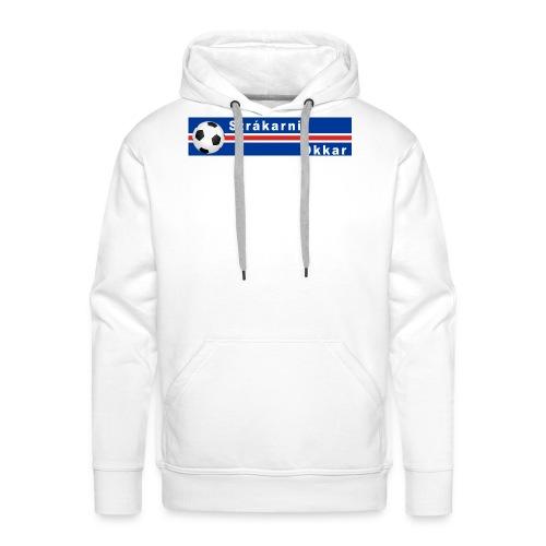 Island strákarnir Okkar - Men's Premium Hoodie