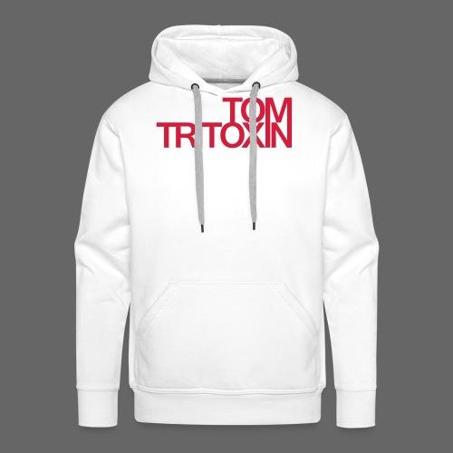 TOM TRITOXIN LONGSHIRT Black - Männer Premium Hoodie