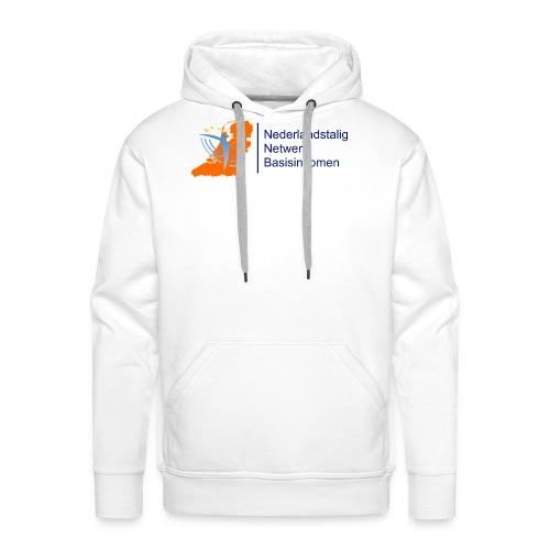 nederlandstalignetwerkbasisinkomen - Mannen Premium hoodie