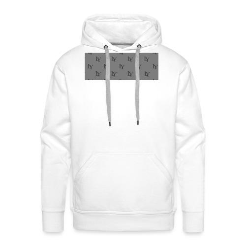 LY de Lebrun - Sweat-shirt à capuche Premium pour hommes