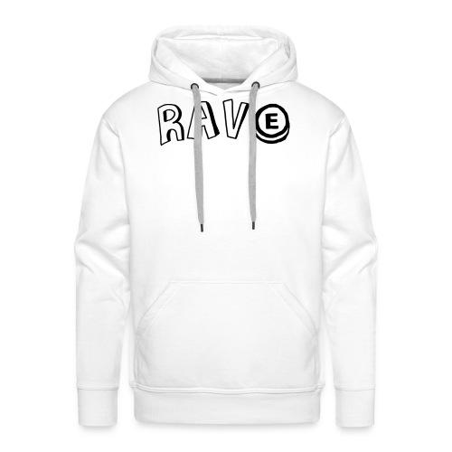 Rave E - Men's Premium Hoodie