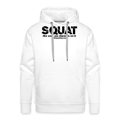 squat - Men's Premium Hoodie