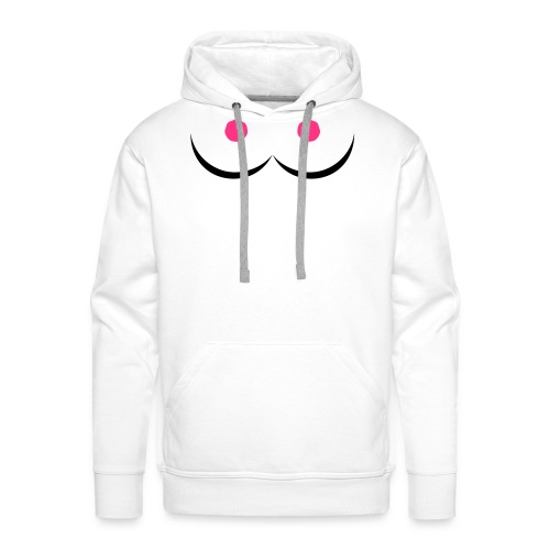 perfect boobs - Men's Premium Hoodie