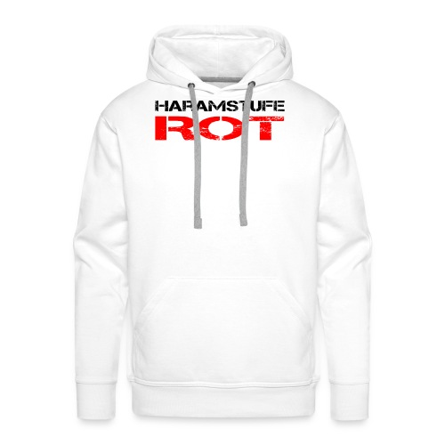 HARAMSTUFE ROT - Männer Premium Hoodie