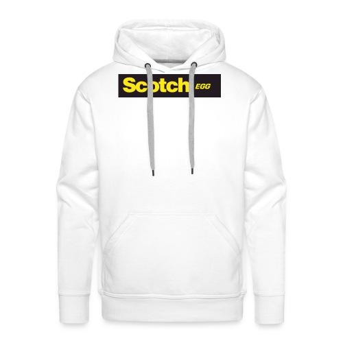 Scotch Brand logo - Felpa con cappuccio premium da uomo