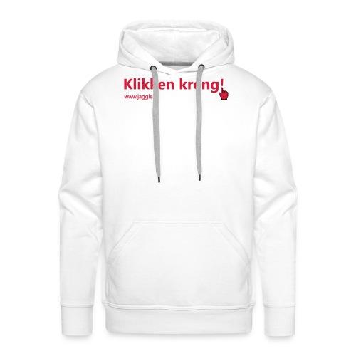 Klikken kreng - Mannen Premium hoodie