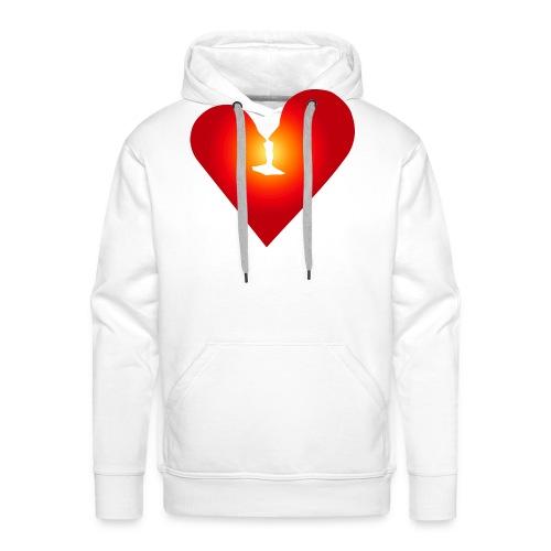Ein Herz in Liebe - Männer Premium Hoodie