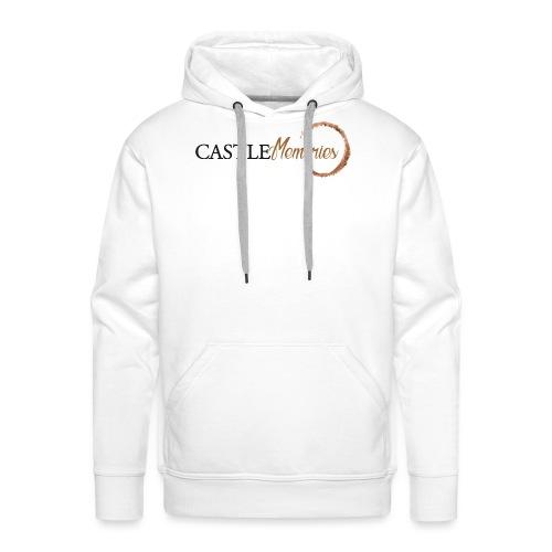 Castle Memories - Felpa con cappuccio premium da uomo