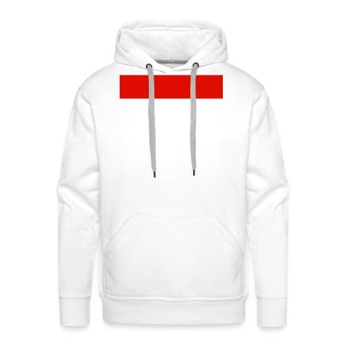 Red Rectangle - Men's Premium Hoodie