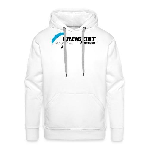 Freigeist-Flywear logo - Männer Premium Hoodie