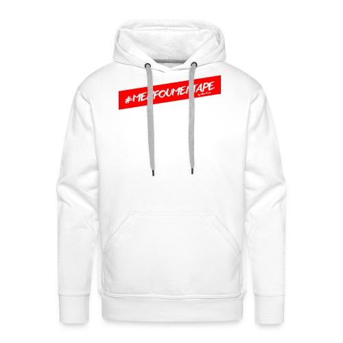 MENFOUMENTAPE Hashtag by Alice Kara - Sweat-shirt à capuche Premium pour hommes