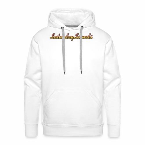 SaturdaySounds Hoes voor lPhone 5/5s. - Mannen Premium hoodie