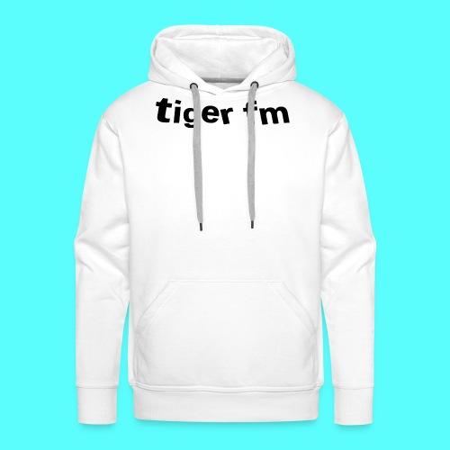 tiger fm logo - Männer Premium Hoodie