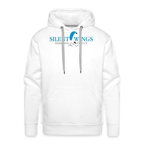 Silent Wings Logo 3 farbig - Männer Premium Hoodie