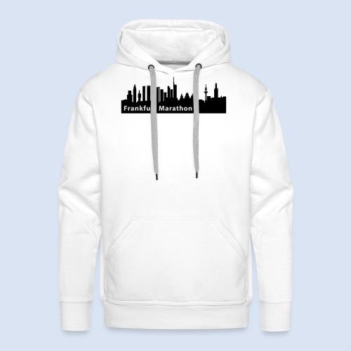 Frankfurt Marathon Skyline - Männer Premium Hoodie