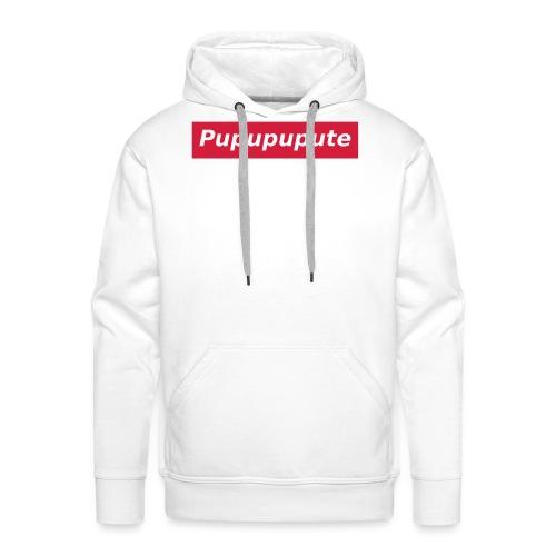 Pupupupute - Sweat-shirt à capuche Premium pour hommes