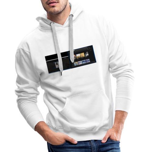 Capture001 - Herre Premium hættetrøje