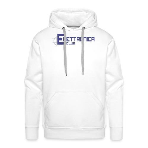 Felpa Elettronica Club - Felpa con cappuccio premium da uomo