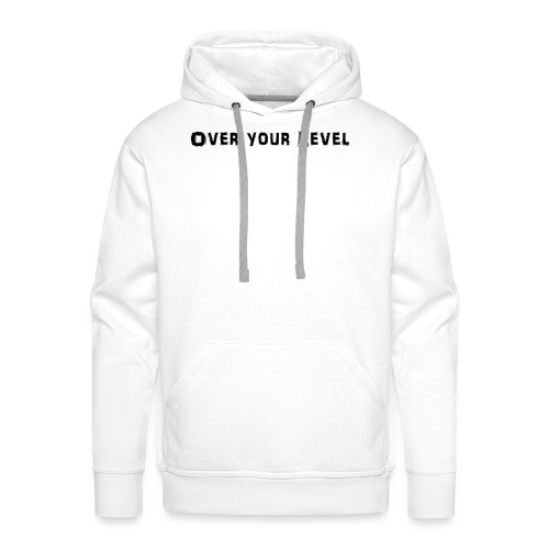 LOGO Over Your Level - Männer Premium Hoodie