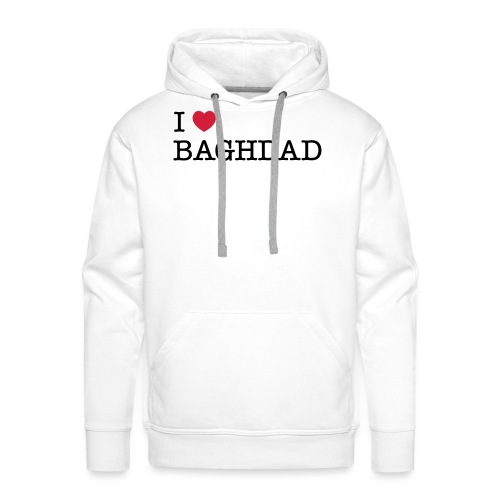 I LOVE BAGHDAD - Men's Premium Hoodie