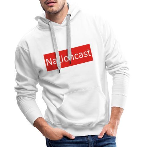 Nationcast Red Banner - Männer Premium Hoodie