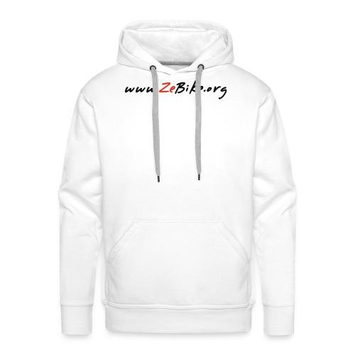 wwwzebikeorg s - Sweat-shirt à capuche Premium pour hommes