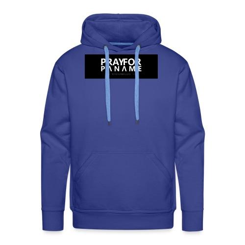 TEE-SHIRT HOMME - PRAY FOR PANAME - Sweat-shirt à capuche Premium pour hommes