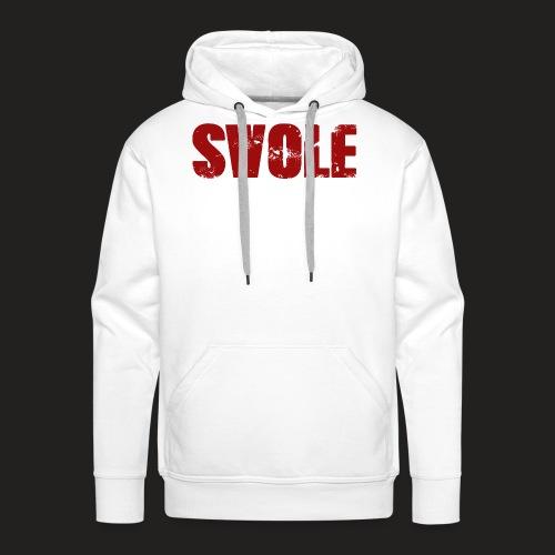 SWOLE RED - Men's Premium Hoodie