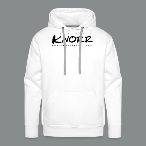 DennisKnorr_Log_sw - Männer Premium Hoodie