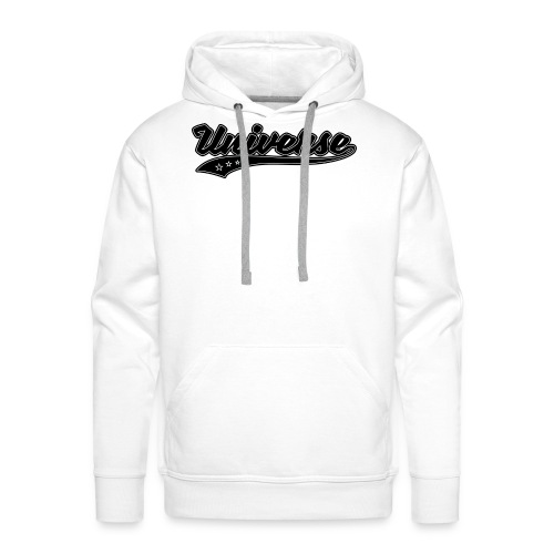 Universe - Sweat-shirt à capuche Premium pour hommes