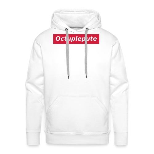 Octuplepute - Sweat-shirt à capuche Premium pour hommes