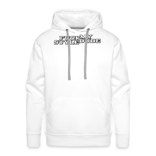 White T-Shirt - FMSD - Men's Premium Hoodie